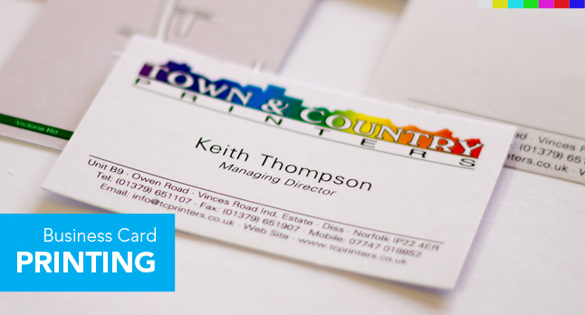 Business card printing printing services town country printers diss what we print reheart Image collections